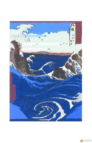 Whirlpools at Naruto Giclee Print