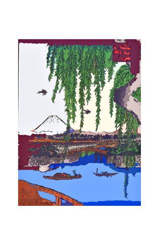 Yatsumi Bridge Giclee Print