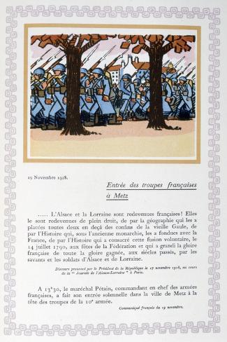 オールポスターズの アンドレ エレ the entry of french troops into
