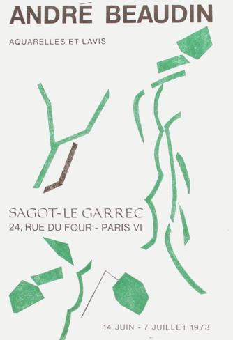 Expo 73 - Sagot-Le Garrec Lámina coleccionable