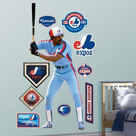 Andre Dawson Expos Wall Decal
