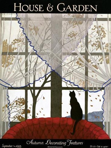 House & Garden Cover - September 1925 Giclee Print