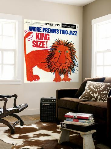 Andre Previn - King Size Wall Mural