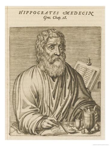 Hippocrates Greek Medical Giclee Print