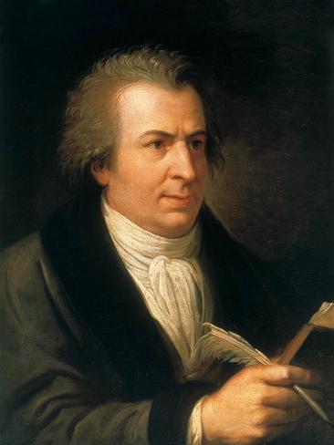 Portrait of Giambattista Bodoni (1740-181) Lámina giclée