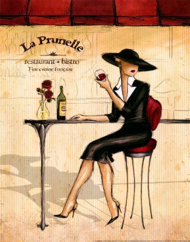 Femme Elegante IV Art Print