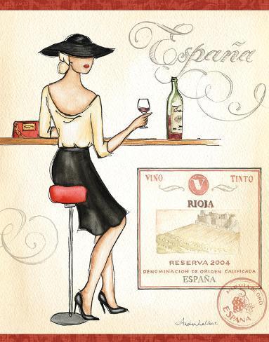 Wine Event I Art Print