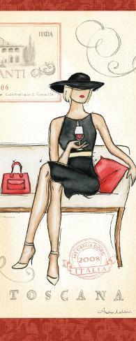 Wine Event IV Art Print