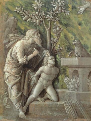 Abraham Sacrificing Isaac, C.1490-95 Lámina giclée