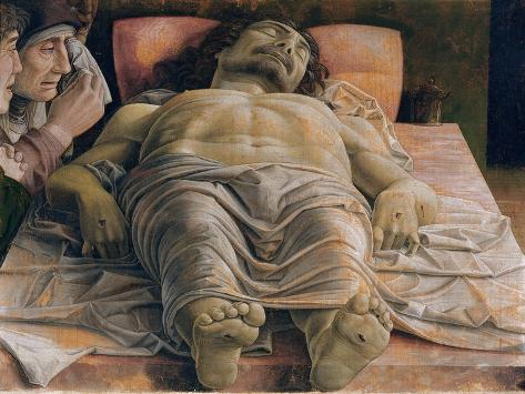 The Dead Christ, c.1480-90 Impressão giclée