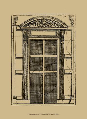 Palladian Door Art Print