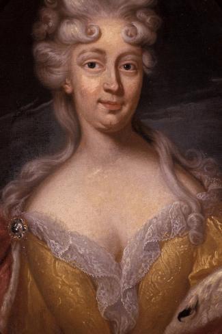 Portrait of Friederike Elisabeth Von Sachsen-Marksuhl Giclee Print