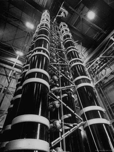 Lightning Maker is This 44 Foot High Generator, Creating Artificial Lightning Photographic Print