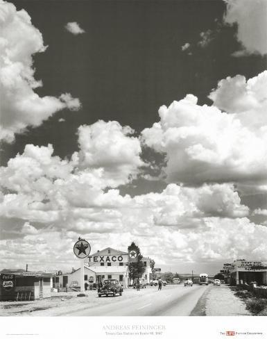 Route 66, Arizona, 1947 Art Print