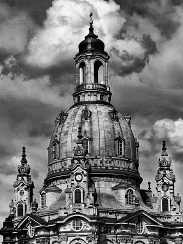 Dresden Frauenkirche Church Rebuilding Photographic Print