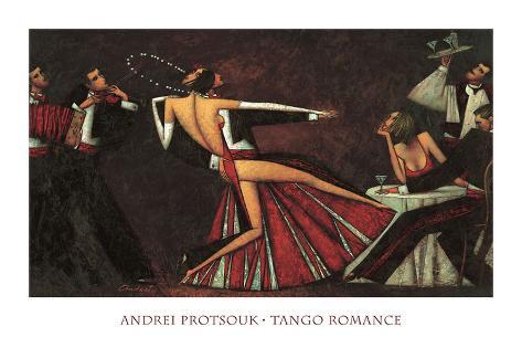 Tango Romance Art Print