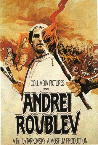 Andrei Rublev Stampa su tela