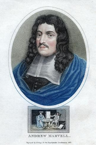 andrew marvell a famous metaphysical poet The term metaphysical poets was coined by the critic samuel johnson to singles out john donne, george herbert, henry vaughan, andrew marvell (poet and saint.