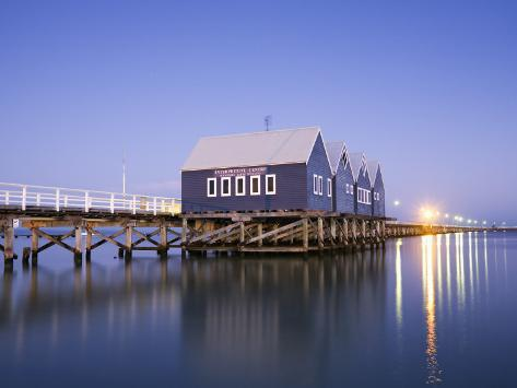 Busselton Jetty at Dawn Photographic Print