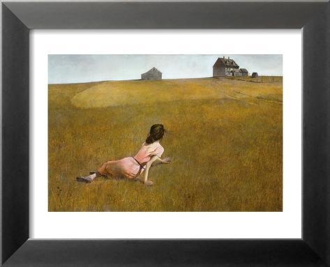 Christina's World, 1948 Lamina Framed Art Print