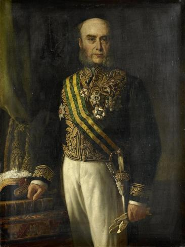 James Loudon. Gouverneur-General, Andries Van Den Berg. Art Print