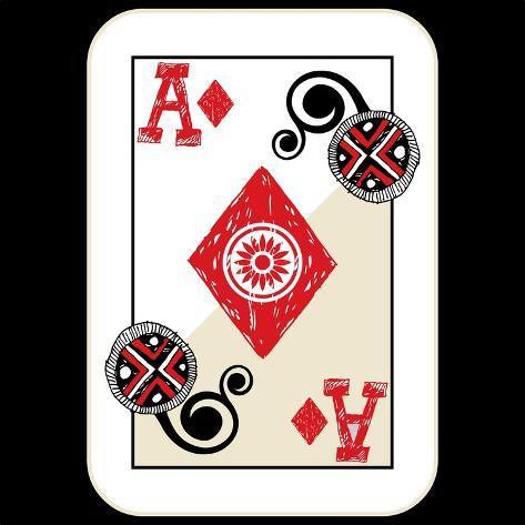 オールポスターズの andriy zholudyev hand drawn deck of cards
