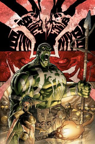 Incredible Hulk No.84 Cover: Hulk Poster