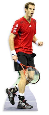 Andy Murray Figura de cartón