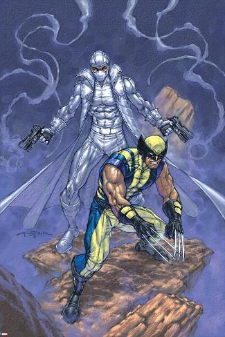 Weapon X No.23 Cover: Wolverine and Agent Zero Poster