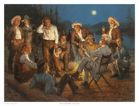American Storytellers Art Print