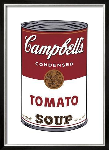 Campbell's Soup I: Tomato, c.1968 Framed Art Print