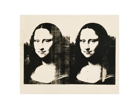 Double Mona Lisa, 1963 Art Print