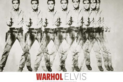 Eight Elvis®, 1963 Giclee Print