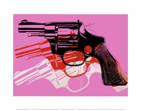 Gun stampe di andy warhol su for Ricerca su andy warhol