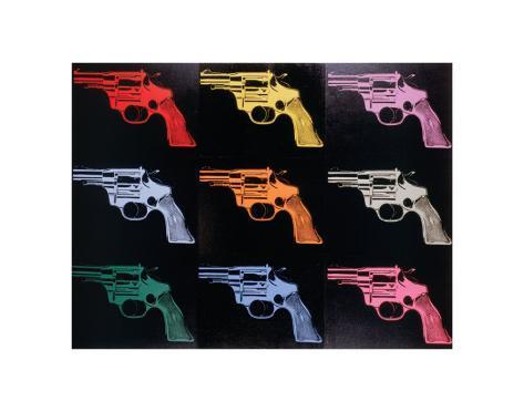 Gun, c.1982 Art Print