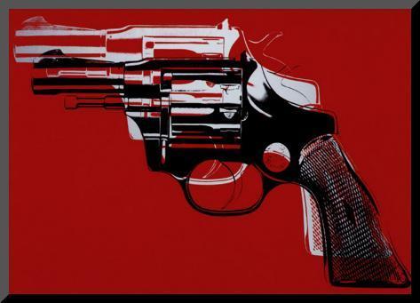 Guns, c.1981-82 Mounted Print