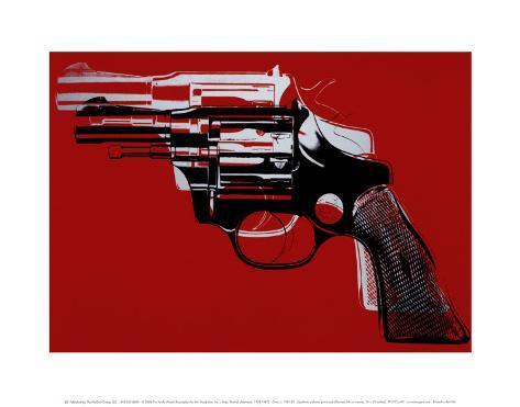 Guns, c.1981-82 Stampa artistica