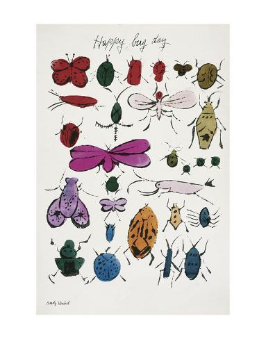 Happy Bug Day, 1954 Art Print