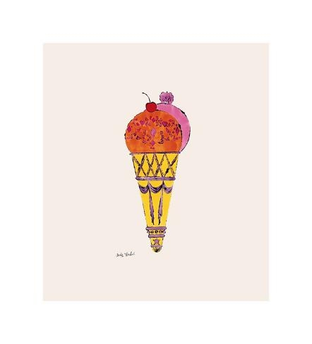Ice Cream Dessert, c.1959 (Red and Pink) Giclee Print