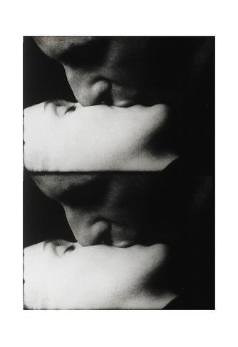 Kiss, c.1963 Art Print