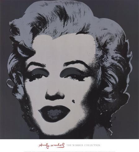 Marilyn Monroe, 1967 (black) Art Print