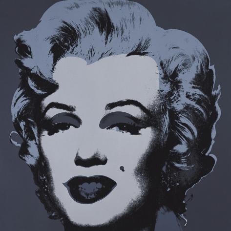 Marilyn Monroe, 1967 (black) Stampa artistica