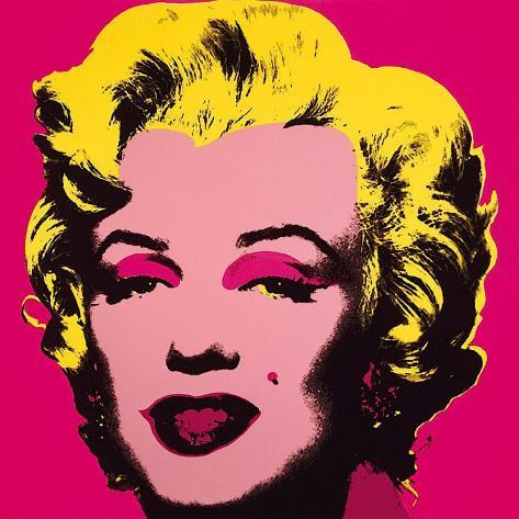 Marilyn Monroe, 1967 (hot pink) Stampa artistica