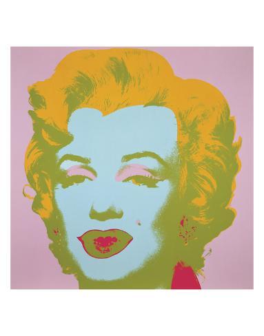 Marilyn Monroe (Marilyn), 1967 (pale pink) Art Print