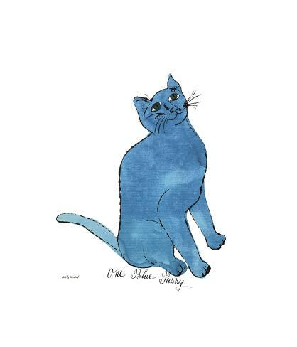 One Blue Pussy, c.1954 Giclee Print