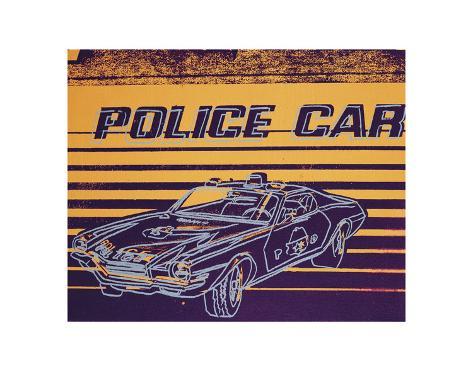 Police Car, 1983 Art Print
