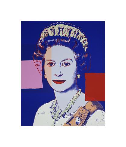 Reigning Queens Queen Elizabeth Ii Of The United Kingdom 1985 Blue