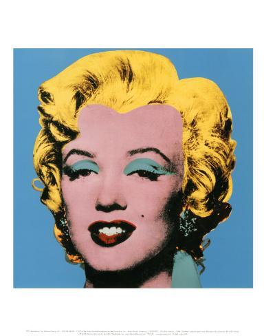 Shot Blue Marilyn, 1964 Art Print