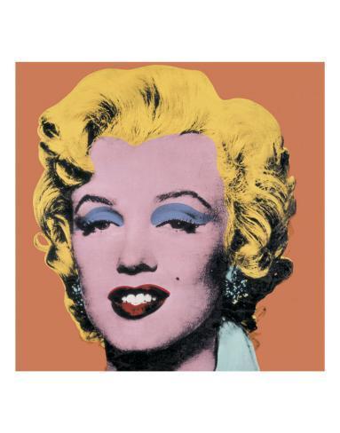 Shot Orange Marilyn, c.1964 Art Print