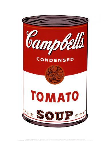 Sopa Campbell I, 1968 Impressão artística